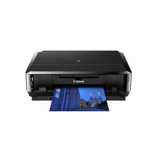 历史最低价!Canon 佳能 PIXMA iP7220 多功能彩色喷墨照片打印机5折 49.99加元包邮!