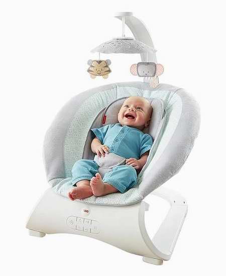 Fisher-Price 费雪 Sweet Surroundings 豪华婴儿摇椅 63.99加元限量特卖并包邮!