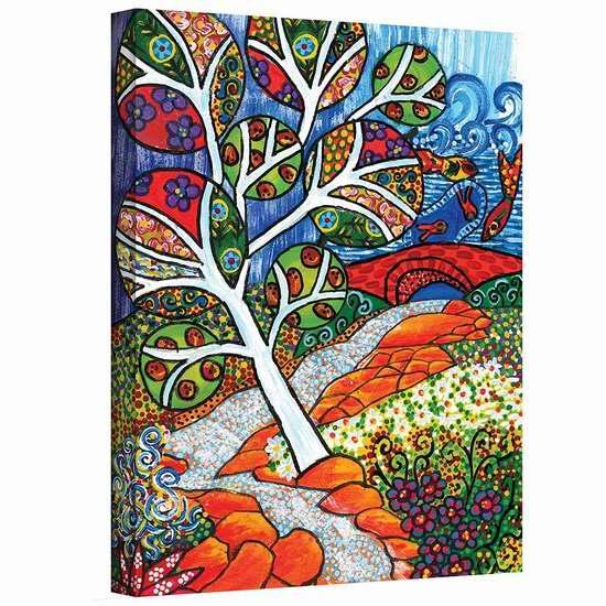 历史新低!Art Wall Ruscello 24x32英寸帆布装饰画1.4折 22.6加元限时清仓!