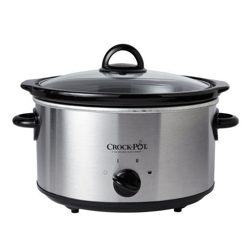 Crock-Pot 4夸脱不锈钢慢炖锅5折 19.99加元限时特卖!