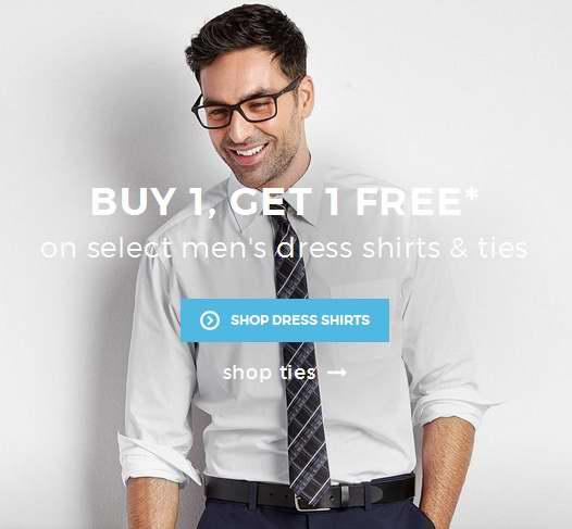 精选77款 Haggar、U.S. Polo Assn. 等品牌男式衬衣、领带特价销售,买一送一!