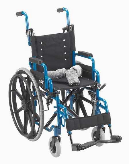 历史新低!Wallaby Pediatric 可折叠轮椅2.3折 140.08加元限时清仓并包邮!