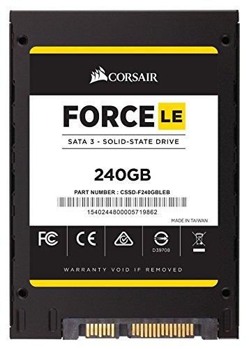 Corsair 海盗船 Force Series LE 6Gbps 240G固态硬盘 91.74加元限量特卖并包邮!