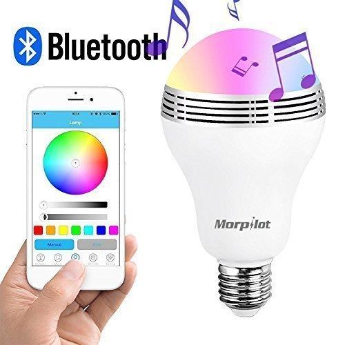 Morpilot 便携式智能蓝牙LED音响灯 25.49加元限量特卖!