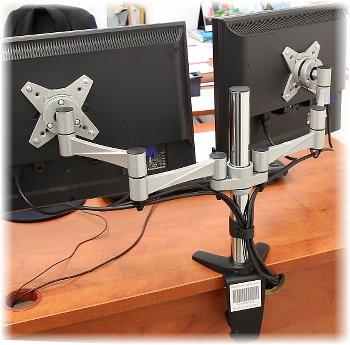 历史新低!VG tek 双显示器双旋臂支架 84.15加元限量特卖并包邮!