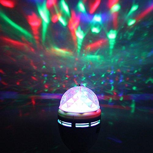 CroLED 3W 节能多彩水晶球LED派对灯 9.99加元限量特卖!