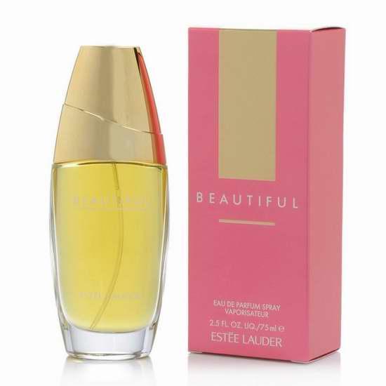 历史新低!Estee Lauder 雅诗兰黛 Beautiful 美丽女士香水75ml装 76.06加元限时特卖并包邮!