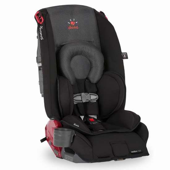 Diono 谛欧诺 Radian R120 成长型儿童汽车安全座椅 305.97加元包邮!