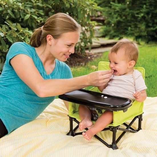 历史新低!Summer Infant Pop 'N Sit 便携式婴幼儿餐椅/增高椅6折 29.87加元!3色可选!
