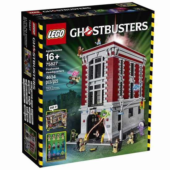LEGO 乐高 75827 捉鬼敢死队 消防总局 超大积木套装(4634pcs) 370.01加元限时特卖并包邮!