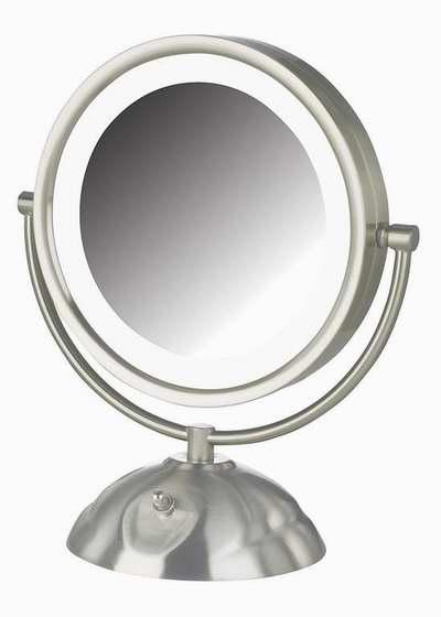 白菜价!历史新低!Jerdon HL8505NL 8.5英寸LED照明8倍放大双面化妆镜2.5折 28.66加元限时清仓!