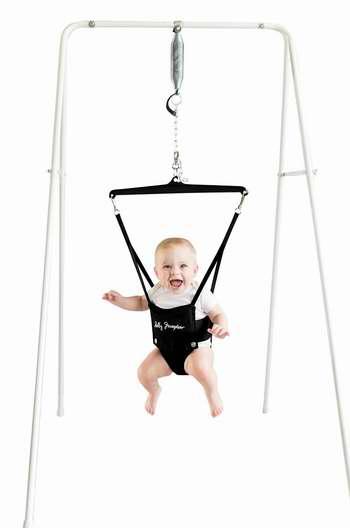 历史新低!Jolly Jumper 婴儿平衡练习器+支撑架套装 69.79加元限时特卖并包邮!