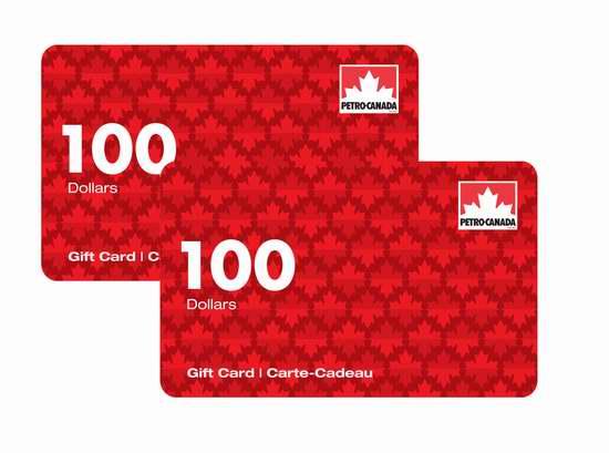 200加元Petro Canada加油卡立省5加元!再送30加元省油卡!