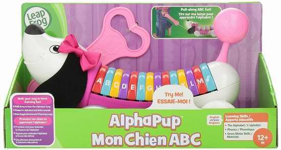 LeapFrog AlphaPup 字母玩具狗6折 14.87加元限时特卖!两色可选!
