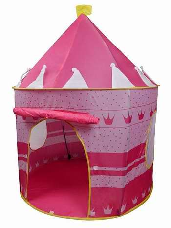 Pericross 便携式公主粉红城堡/儿童帐篷 27.2加元限量特卖!