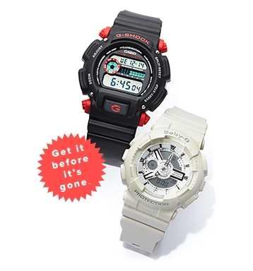 今日闪购:精选多款 Casio 卡西欧 时尚腕表特价销售,其中G-Shock系列腕表仅售79.99加元!
