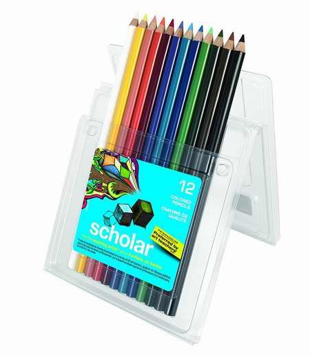 历史新低!PRISMACOLOR Scholar 92804 彩色铅笔12支装2.7折 4.07加元限时特卖!