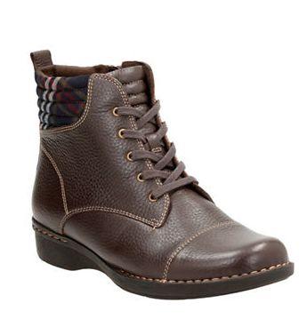 CLARKS 女款短靴 50.4加元(7,12码),原价 180加元