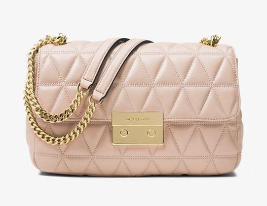 Michael Kors Sloan女款单肩包 276加元(3色可选),原价 368加元,包邮