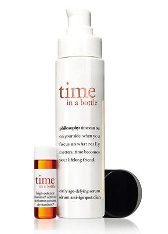 PHILOSOPHY 自然哲理 time in a bottle 基因修复再生肌底精华素 57.38加元,原价 85加元,包邮