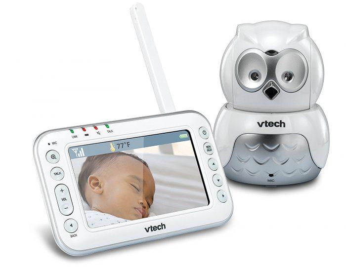 萌萌哒!超可爱 VTech 婴儿音频/视频监视器+猫头鹰相机 146.03加元限量销售,原价 212.77加元,包邮