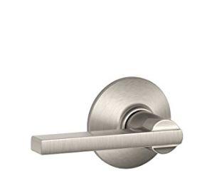 Schlage F10 LAT 619 银色门锁 36.31加元,原价 65加元,包邮