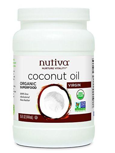 纯天然有机!Nutiva Organic 特级初榨椰子油(444ml) 10.1加元限量特卖!