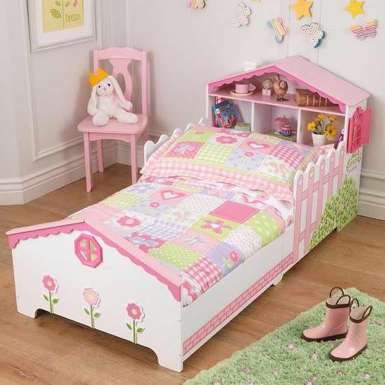 历史最低价!KidKraft 超可爱玩具屋 Toddler 儿童床3.7折 184.99加元限时特卖并包邮!