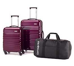 Samsonite 新秀丽 Alliance 硬壳拉杆行李箱3件套2.1折 129.99加元包邮!2色可选!