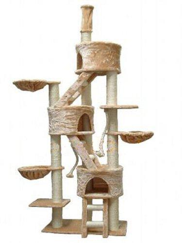 历史新低!Go Pet Club FC01 106英寸超高猫树公寓/猫爬架3.9折 116.79加元包邮!