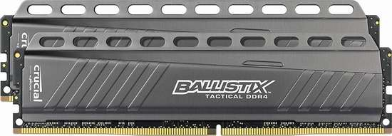 Crucial 英睿达 Ballistix Tactical DDR3 UDIMM 240-Pin 8GBx2 台式电脑内存条套装5.9折 85.69加元限量特卖并包邮!