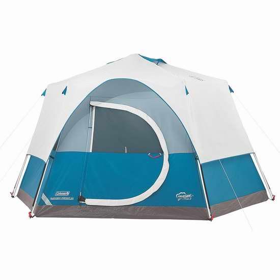 Coleman Elks Bay 快速搭建 8人帐篷 207.82加元限量特卖并包邮!
