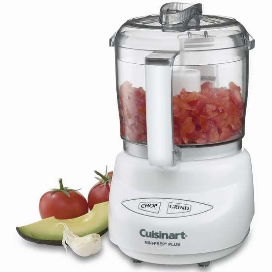 Cuisinart DLC-2AC 3杯量迷你食物料理机/搅拌机 39.97加元限时特卖并包邮!