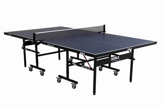 JOOLA 德国优拉 Tour 1500 折叠式乒乓球桌5.1折 386.71加元包邮!比7月购物节便宜101.29加元!