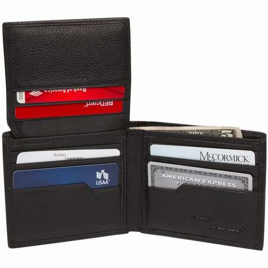 Access Denied RFID 防盗男士真皮钱包2.8折 19.99加元限量特卖并包邮!两色可选!