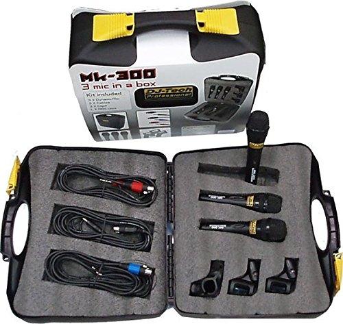 白菜价!历史新低!DJTech MK300 麦克风3件套1.8折 20.09加元限时清仓!