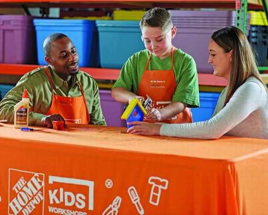 Home Depot 3月11日免费儿童手工课,制作雨量计,本月另有2个家庭装修免费课程!
