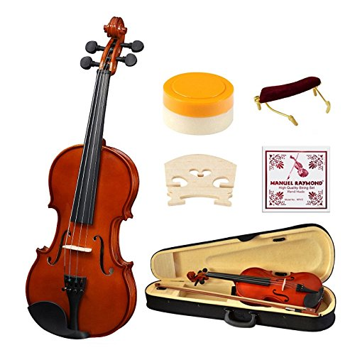 Strong Wind 1/2 Size 专业儿童小提琴+入门套件4折 76.49加元限量特卖并包邮!