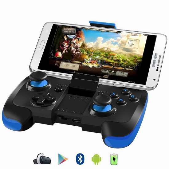 BEBONCOOL 无线蓝牙游戏控制器/游戏手柄 19.99加元限量特卖!两色可选!