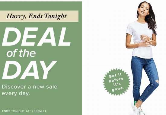 今日闪购:精选670款 Levi's、Only、Noisy May 等品牌女式牛仔裤39.99加元起限时特卖!