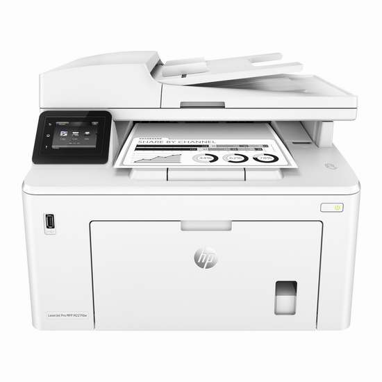 历史新低!HP 惠普 LaserJet Pro MFP M227fdw 多功能一体单色激光打印机5.3折 199.99加元限时特卖并包邮