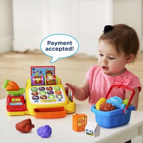 历史新低!VTech 伟易达 Ring and Learn 儿童收银台玩具套装 19.98加元!