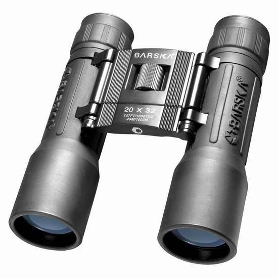历史新低!Barska AB10670 Lucid 20x32 紧凑型双筒望远镜1.8折 11.72加元限时清仓!