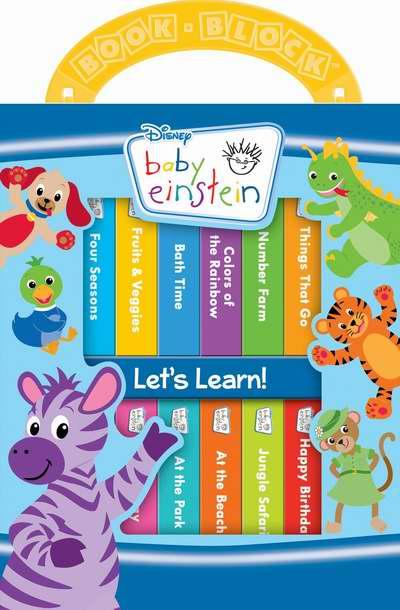 历史新低!Baby Einstein 宝宝爱因斯坦 早教硬页书12件套4.6折 5.94加元限时特卖!