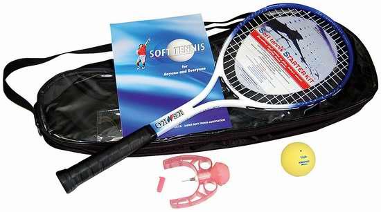 历史新低!Kenko Markwort Soft 柔性网球球拍套装3.1折 26.32加元限时清仓!
