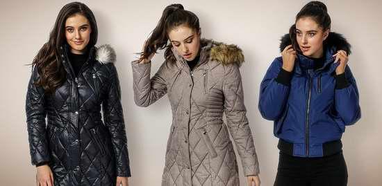 精选6款女式时尚防寒服2.7折起限时抢购!售价低至49.55加元!