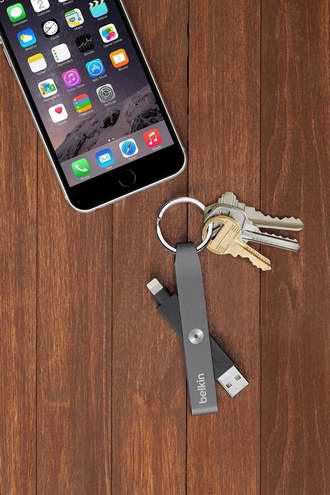 历史新低!Belkin MIXIT Lightning to USB 迷你数据线 钥匙扣1.5折 6.99加元限时清仓!