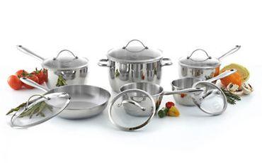Lagostina 拉歌蒂尼 不锈钢锅具12件套2.4折 179.99加元限时清仓并包邮!