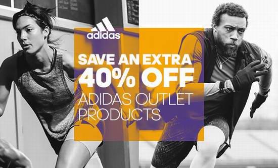 Adidas 季中特卖!Outlet区特卖商品额外再打6折!