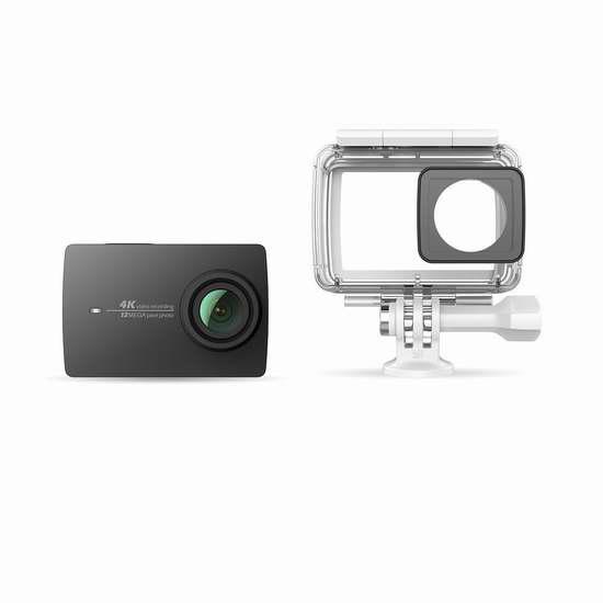 Xiaoyi 小蚁 Yi 4K 超高清运动相机+防水保护罩 319加元限量特卖并包邮!2色可选!